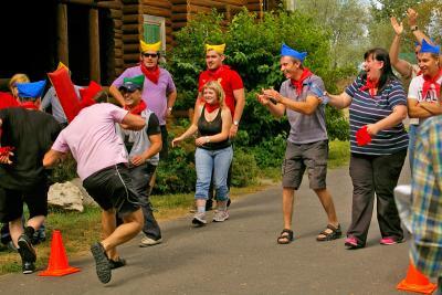 Конкурсы веселые старты на природе для взрослых