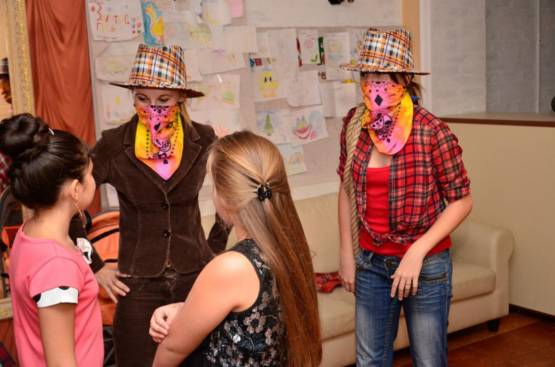 Конкурсы на вечеринке девочками