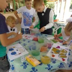 творческий мастер класс картины из цветного песка