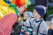 Клоун Клёпа на день рождения